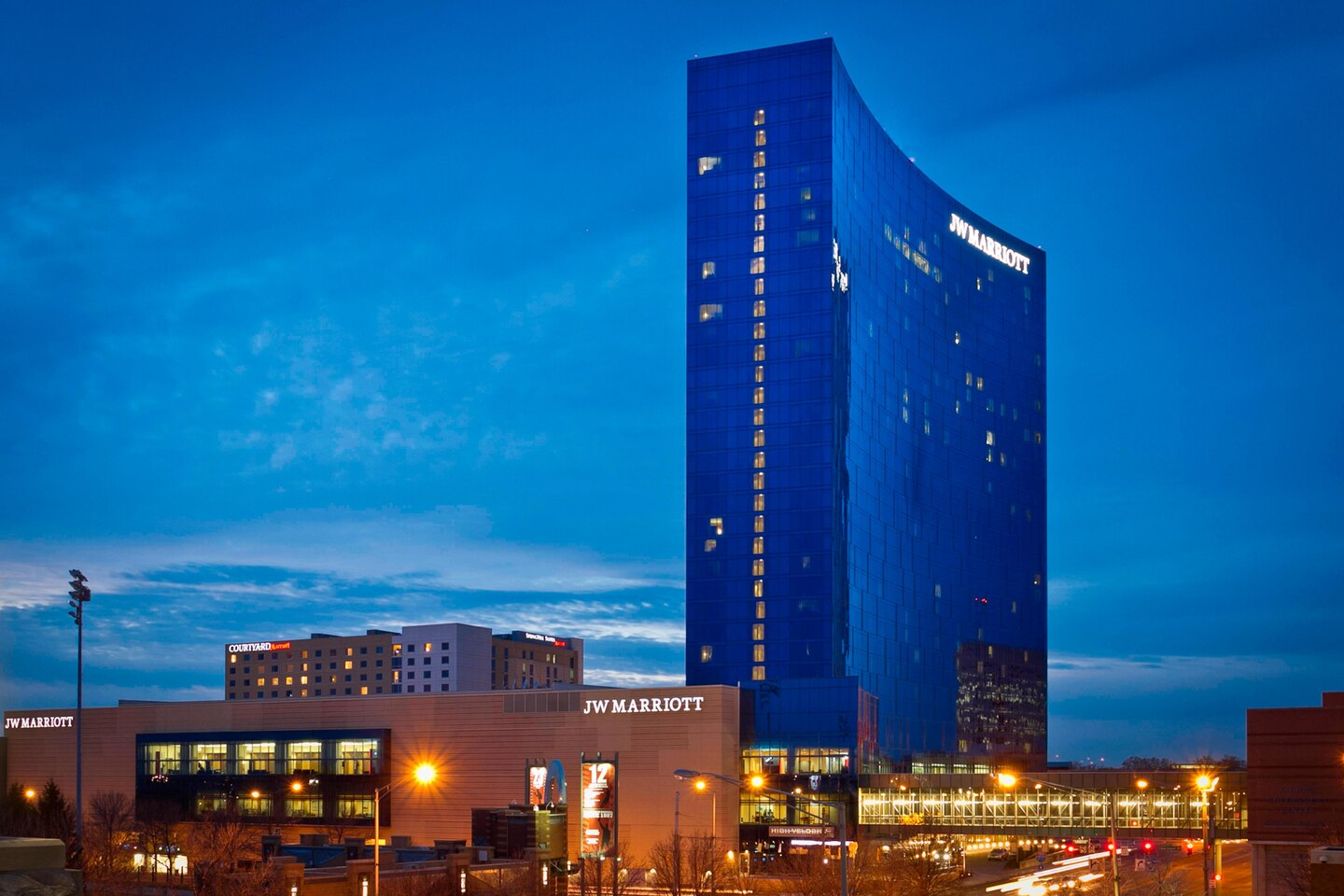 JW Marriott Indy Exterior