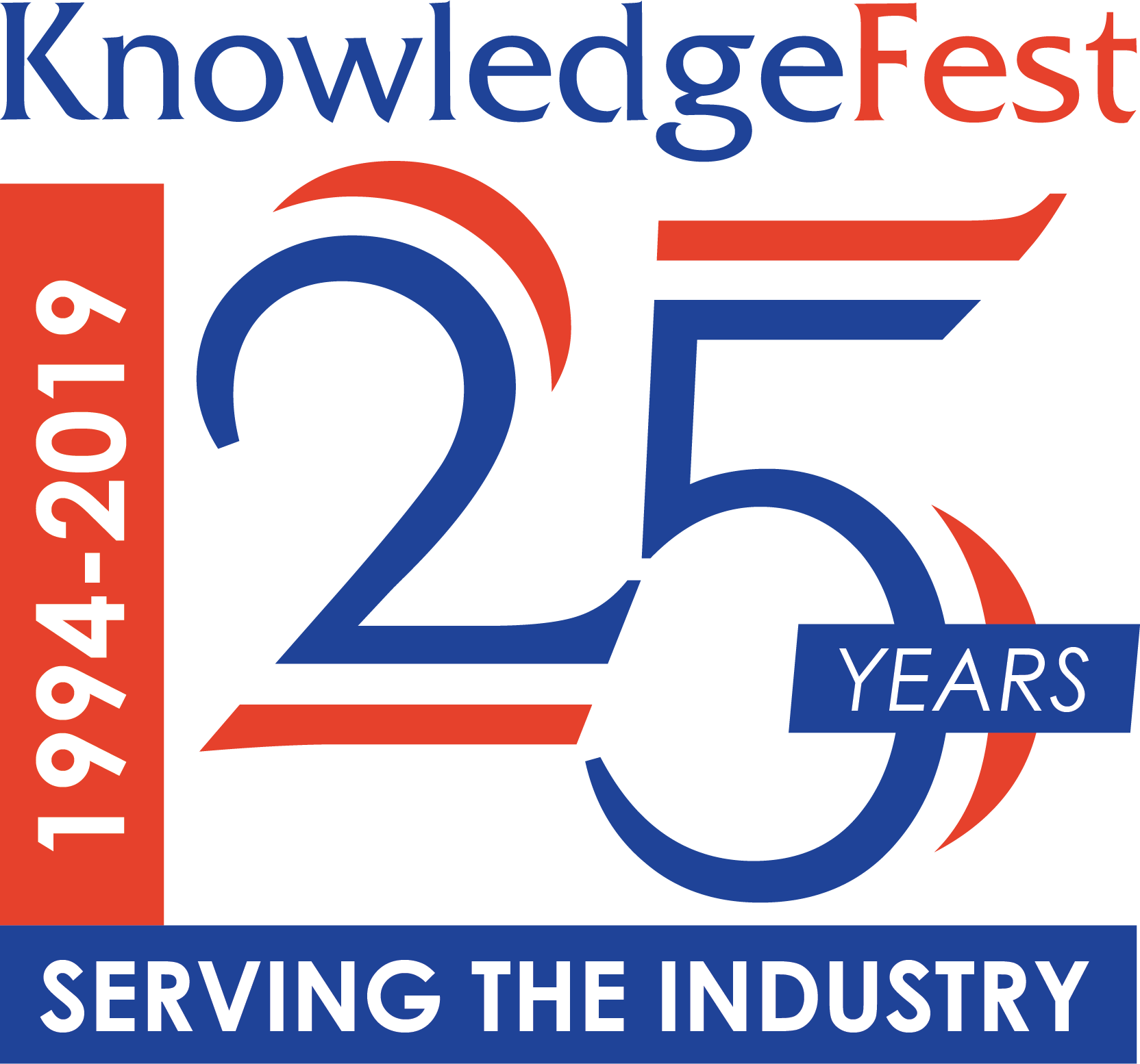 KnowledgeFest 25 Logo